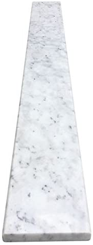 White Department store Carrara latest Marble Threshold - Size Inch 6 x 48 Polished