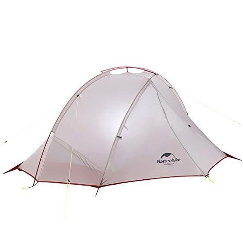ネイチャーハイク 正規品 二人用 超軽量 テント PU4000 アウトドア キャンプ コンパクト 軽量 テント 防風 防雨 防災 専用グランドシート付