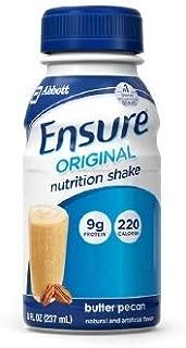 Ensure Original Butter Pecan Flavor 8 oz. Bottle Ready to Use, 57240 - Each