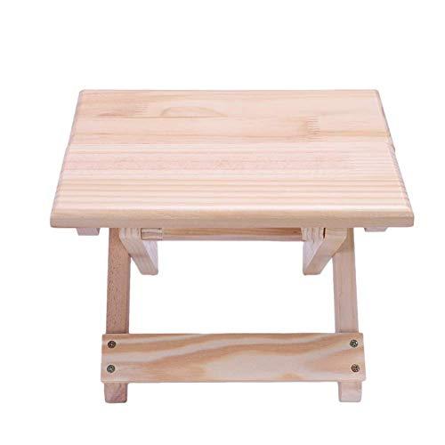 Portable strandstoel eenvoudige houten opvouwbare ontlasting tuinmeubilair vissen stoel kruk