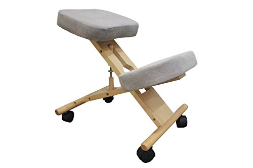 Bodytec Wellbeing ergonomic kneeling chair (Grey)