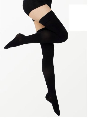 Thigh High Compression Stockings 20-30 Close - OFFicial store Toe Year-end annual account Gradien mmHg
