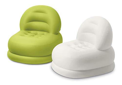 INTEX Home Poltrona Fashion, Poliestere, colori assortiti, 84x99x76 cm, 75_x_100_cm