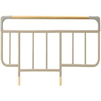 パラマウントベッド社製ベッド用 ベッドサイドレール KS-126B 全長96.4×全高50.5cm チェリー チェリー,