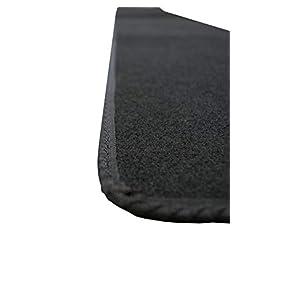 Indoor Bike Cycle Floor Protector Mat, Black Carpet
