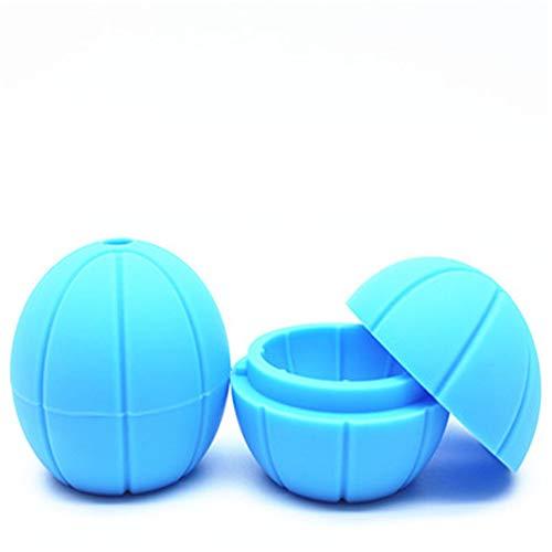 Gratis Mallen Ice Cube Mold Siliconen Voor Zomer Cocktail Gift Cool Whiskey Voor Vriezer Food-Grade Stapelbaar blue