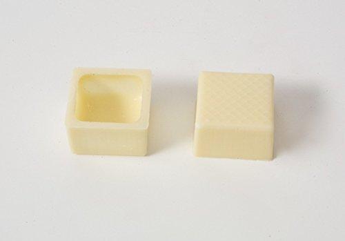 Pralinenschalen Viereckig Weiß mit Rezeptvorschlag