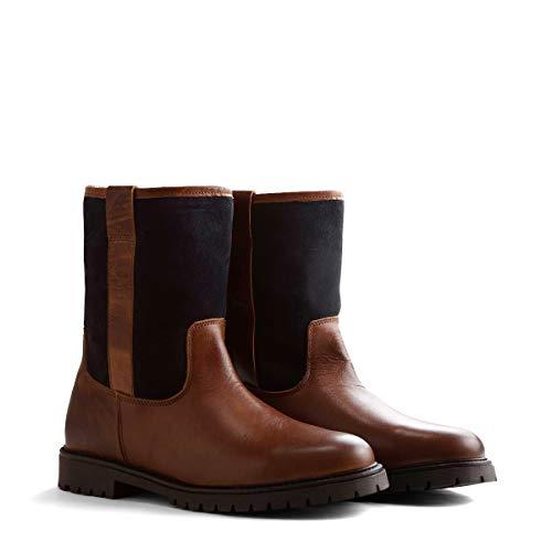 NoGRZ J.Celega outdoor laarzen leer heren | waterdicht & gevoerd | zwart/bruin/ognac