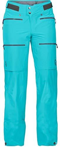 Norrona Damen Winter Hosen Lyngen Dryflex Tri Pant, Azurblau, M