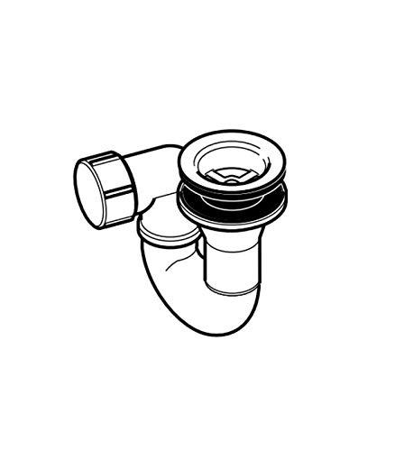 Geberit - Siphon Duschwanne mit Ablauf 50 mm, Chrom, auf Lager