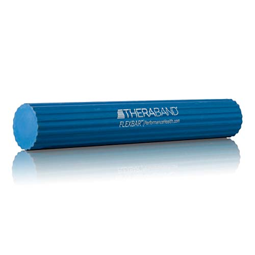 TheraBand FlexBar Resistance Bar For Improving Grip Strength, Tennis...