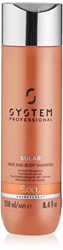 Wella SP Code Energy SOLAR Hair & Body Champú, 250 ml