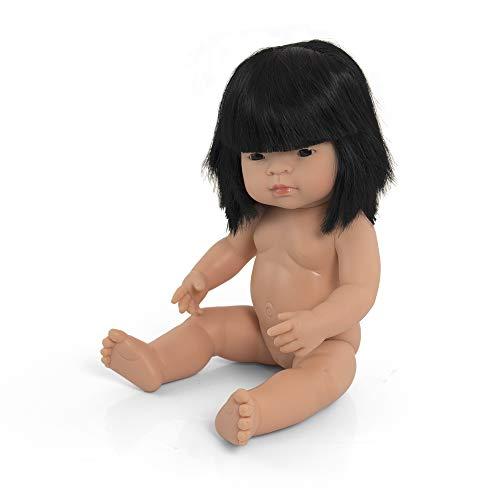 Babypuppe asiatisches Mädchen 38cm-31056