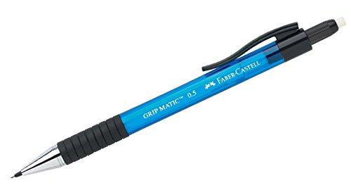 Faber-Castell 137551 - Druckbleistift Grip Matic 1375, 0,5 mm, blau