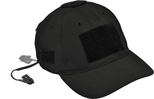 HAZARD 4 PMC SmartSkin Softshell Modular Velcro Patch Tactical Ball Cap - Black