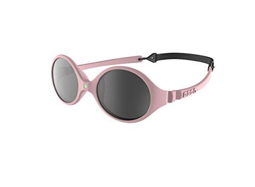 Ki ET LA – Gafas de sol para Bebé modelo Diabola – 100% irrompibles - color Rosa Claro – 0-18 meses