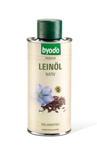 Leinöl nativ, 0, 25l Dose