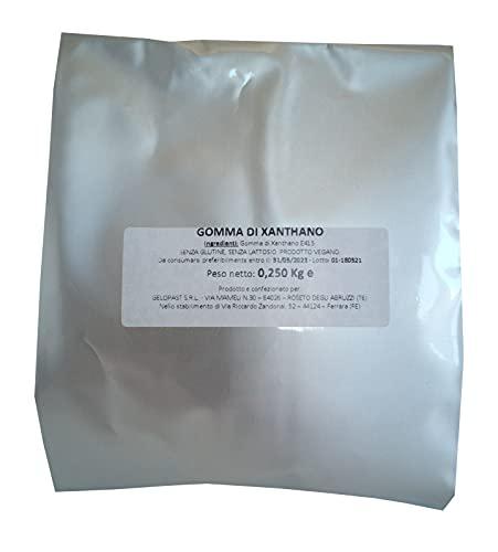 Gomma di Xantano E415 100%, in polvere, confezione da 250gr