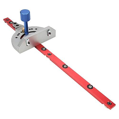 Calibre de inglete, calibre de inglete para enrutador de precisión de bricolaje, general para sierra de mesa de carpintero de tolva deslizante modelo 30/45