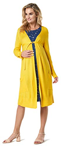 Noppies Cardigan Knit LS Nova Premaman, Super Limone, XL Donna