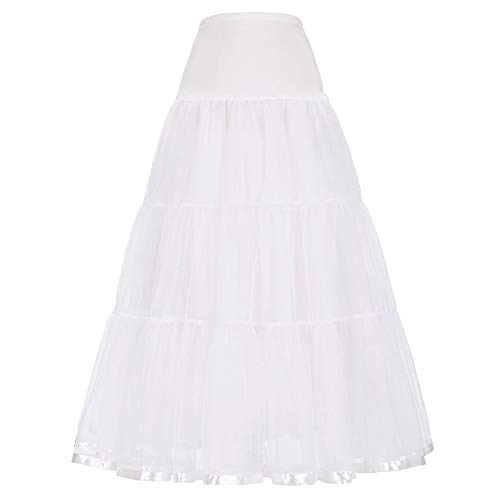 Scarlet Darkness enkellange petticoats crinoline onderrok voor lange jurk