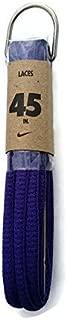 Nike Unisex Replacement Shoe Laces (45, Purple)
