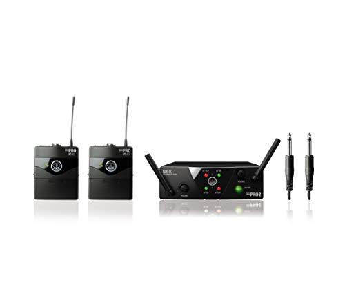 AKG WMS40mini 2mix sistema microfono senza fili/strumento