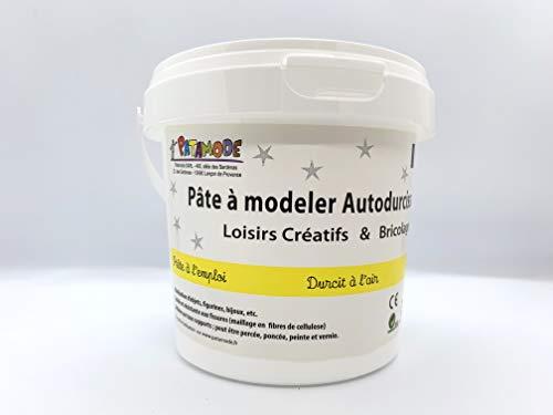 PATAMODE – Pâte à Modeler Autodurcissante – sans Gluten, sans Arachide – Fabriqué en France...