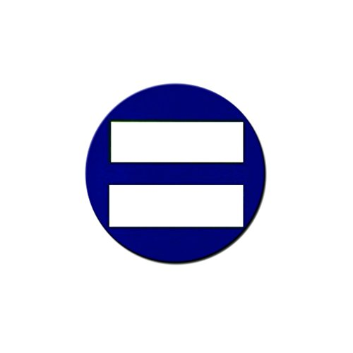 Equality Symbol Pinback Button - [1.25