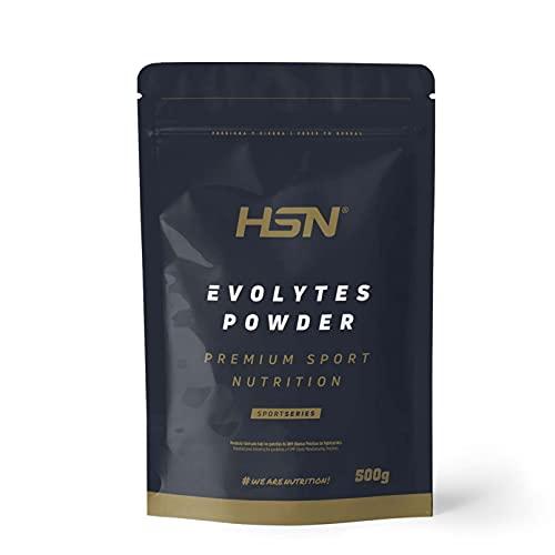 HSN - Evolytes (Elektrolyte)   Mineralstoffe für Sportler - zuckerfrei   Hydratation und Erholung   GVO-frei, vegan, glutenfrei, laktosefrei, geschmacksneutral   500 g
