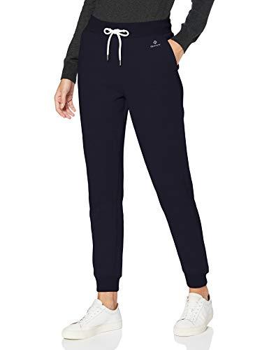 GANT Damen Lock UP Sweat Pants Freizeithose, Evening Blue, M