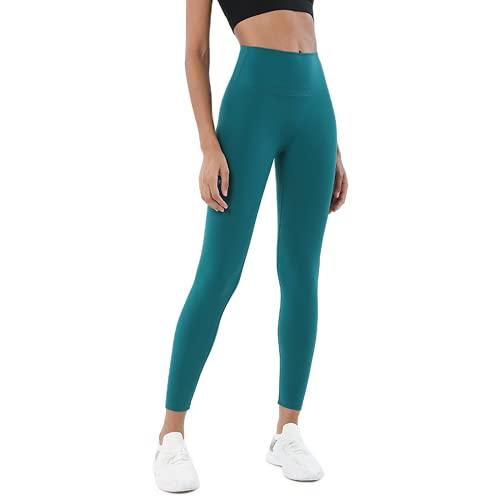 Pantalones de Yoga para Mujeres Desnudas Suaves, Cintura Alta, Anti-Sentadillas, Estiramiento, Pantalones para Correr de Secado rápido, Leggings para Exteriores, Pantalones de Fitness GS