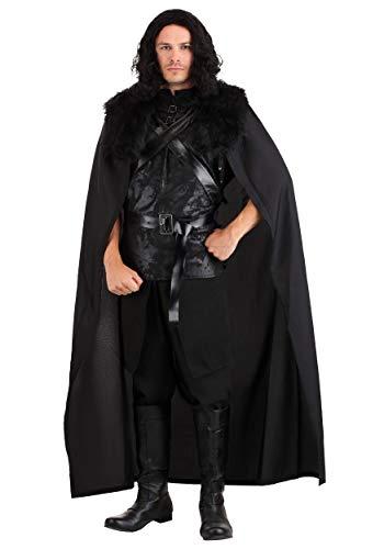 Disfraz de guerrero de pared para hombre - negro - Large
