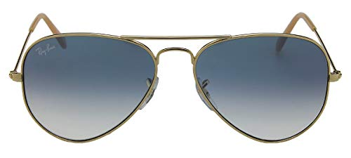 Ray-Ban - Lunettes de Soleil - RB3025 Aviator Metal Aviator 62 mm