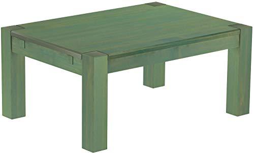 Brasilmöbel, Rio Kanto, salontafel, 100 x 73 cm, bamboe, mintgroen, woonkamertafel, houten tafel, massief houten salontafel, bijzettafel, echt hout, afmetingen en kleur naar keuze