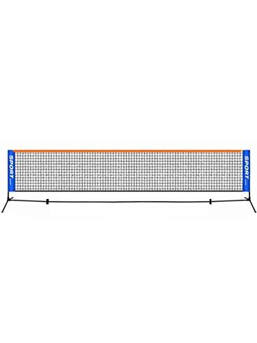 Tragbares 3-6 Meter Tennisnetz, Standard-Tennisnetz für Match-Training, Netz ohne Rahmen, Tennisschläger, Sportnetzwerk, Badminton (Nur Net), 6 m