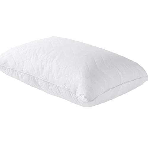 Sobel Westex: Sahara Nights Pillow, Best Pillow for Back and Stomach Sleepers – Hotel & Resort Quality Pillows – Gel Fiber Fill - Cotton Case – Hypoallergenic Pillow (Queen Size Pillow)