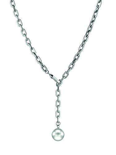 LIEBESKIND BERLIN Damen-Perlenketten Edelstahl LJ-0262-N-46