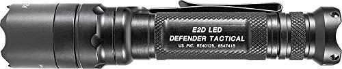 Surefire E2D Defender, Linterna LED táctica de 1000 lúmenes + baterías
