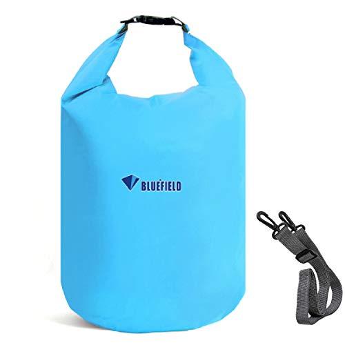Azarxis Wasserdichter Packsack, Dry Bag, wasserdichte Tasche für Boot, Schwimmen, Kajak, Wassersport (Himmelblau, M)