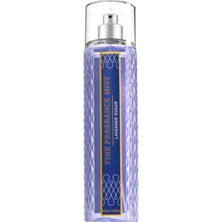 Bath and Body Works Lavender Sugar Fine Fragrance Mist Spray 8 Ounce