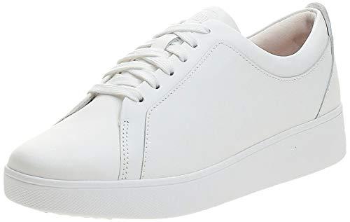 FitFlop Rally Sneakers, Zapatillas sin Cordones Mujer, White (Urban White 194), 38 EU