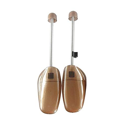 WDSFT Rejilla Moldeadora para Camilla de Zapatos 1 par de Zapatos de plástico Árbol Unisex Spring Zapatos de Resorte Ajustable Soporte de Zapato Camilla con Forma de Zapatos fijos sin distorsión
