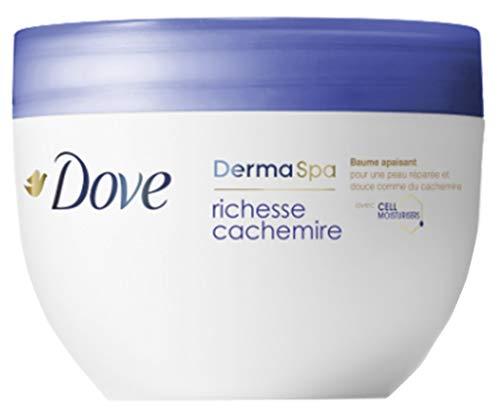 Dove Crema de cuerpo DermaSpa riqueza Cachemira 300ml (lote de 2)