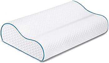 ZHCHG Neck Support Cervical Bed Pillow