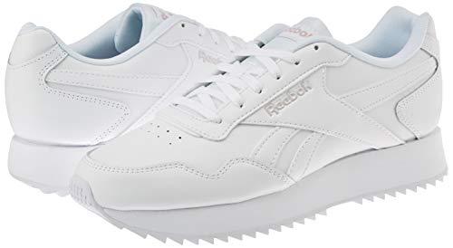 Reebok Royal Glide RPLDBL, Zapatillas de Atletismo Mujer, Multicolor (White/Ashen Lilac 000), 38 EU