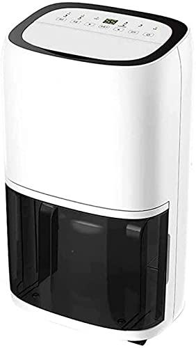 Deumidificatore portatile da 5500 ml, ultra silenzioso, 2.300 metri cubi. Timer 6H/12H, piccolo deumidificatore per casa, cantina, camera da letto, bagno, ripostiglio, camper
