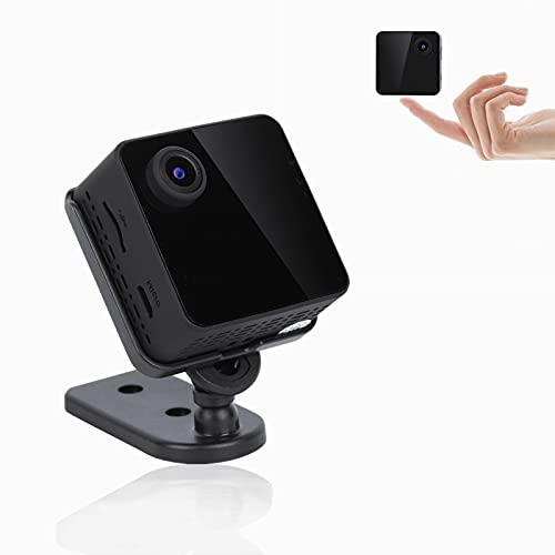 Telecamera Nascosta WIFI, 1080P Mini Videocamera Sorveglianza Esterno Wifi, Telecamera Spia con Rilevamento Del Movimento, Visione Notturna a Infrarossi, Controllo App, Per La Sicurezza Domestica