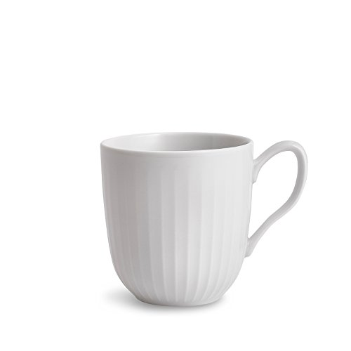 Kähler, Designer Becher aus Porzellan in Weiß, 33 cl