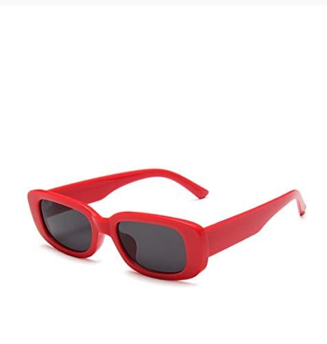 ZZZXX Gafas De Sol Hombre Gafas De Sol Cuadradas De Viaje Rectangulares Pequeñas Para Hombres Y Mujeres Gafas De Piloto Con Estuche Y Paño De Limpieza, Para Ciclismo Pescar Y Conducir